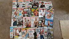 """You Choose"" Huge Celebrity Men's fitness,health,Journal 24 in all"