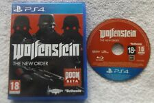 WOLFENSTEIN THE NEW ORDER PS4 V.G.C. FAST POST ( FPS shooter game )
