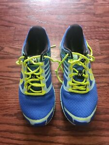 Pearl Izumi Women's Project EM N2 Running Shoes Size 7.5 Blue Highliter yellow