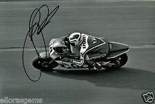 Freddie Spencer Fast Freddie 500cc World Champion Moto GP Hand Signed Photo AC