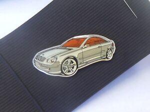 Mercedes Benz CLK. Lapel Pin Badge (Red Interior)