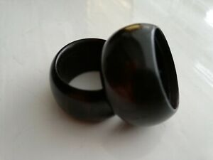 RING,   ebony     GOTH  HIPPY EMO