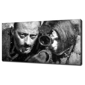 LEON THE PROFESSIONAL CANVAS PRINT PICTURE WALL ART FREE FAST DELIVERY