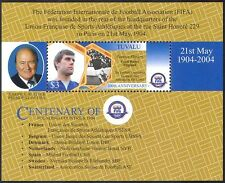 Tuvalu 2004 FIFA 100th Anniversary/Football/Sports/Games/Soccer 1v m/s (s4704q)