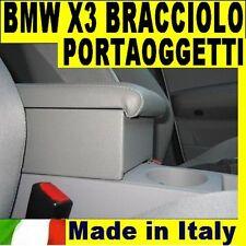 BRACCIOLO per BMW X3  PORTAOGGETTI originale Wood Company Italy 3 COLORI SCELTA