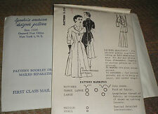 Vintage 1960s Spadea 258 Charles Montaigne Button Detail Dress Pattern 38B NEW