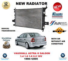 FOR OPEL ASTRA G SALOON 1.4 1.6 1.8 2.2 16V 1998->2005 NEW RADIATOR OE QUALITY