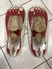 Thompson Barefoot Boards Waterskis Bare Foot Water Skis Vintage Antique Wall Art