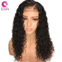 Eva Hair Curly Full Lace Human Hair Wigs With Baby Hair Brazilian Remy Hair Full
