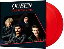 Queen: Greatest Hits Remastered Red Coloured Vinyl 2 x LP