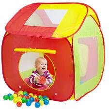 Spielwerk Piscina de pelotas Tienda infantil con 200 pelotas interior exterior
