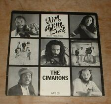 THE CIMARONS with a little luck*peggy sue 1982 UK I.M.P PS 45