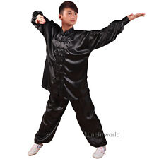 8 Colors Silk Tai chi Uniforms Wushu Martial arts Kung fu Wing Chun Suit