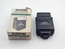 Universal Shoe Mount Flash Blitz Tilt Head - Sunpak Softlite 1600A - TESTED