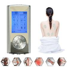 Digital Tens Therapy Machine Full Body Massager Pain Relief acupuncture 8 Modes