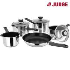 Judge Vista Non-Stick 5 Piece Pan Set: 3 Saucepans, 1 Milk Pan, 1 Frying Pan