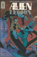 Alien Legion Comic Issue 1 Copper Age First Print 1987 Carl Potts Zelenetz Dixon