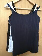 Next size 12 Nursing Top x3 Secret Support Navy White Black bundle