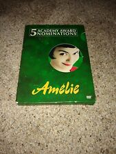 Amelie (Dvd, 2002, 2-Disc Set, Special Edition) in French with English subtitles
