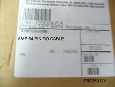 ADTRAN NEW 1200287L5 50' 64-PIN AMP TO WIIRE  CABLE WITH WIRING DIAGRAM