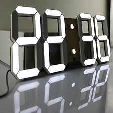 Pinty Multi-Functional Remote Control Large LED Digital Wall Clock with Timer &