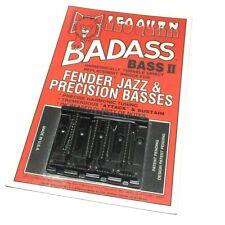 Black Grooved Badass II Bass Bridge for Top Load Fender P/J Bass® BB-0337-003