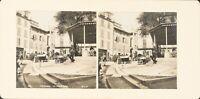 FRANCE Fréjus Le Marché, Photo Stereo Vintage Argentique PL62L11