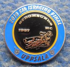FINAL WORLD CHAMPIONSHIPS ICE SPEEDWAY UPPSALA SWEDEN 2015 PIN BADGE
