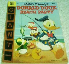 Walt Disney's Donald Duck Beach Party 4, FN- (5.5) 1957, 50% off Guide