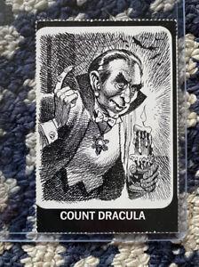 Vintage Original Dracula's Greatest Hits Jack Davis Art Count Dracula Card