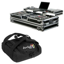 Odyssey FZGSPBM12W DJ Mixer & Turntable Coffin Case Remixer Glide Arriba Bag