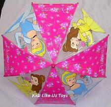 ~ Disney Princess - GENUINE LICENSED GIRLS CHILD KIDS RAIN UMBRELLA SUN SHADE