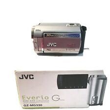 JVC Everio Hard Drive Camcorder GZ-MG 330 Silver - IN BOX - ACCESSORIES SEALED
