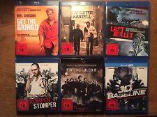 FSK18 [6 Blu Ray] Expendables 2 + Baseline 3D + Romper Stomper + Last Bullet+Get
