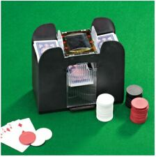 New Listing6 Deck Automatic Card Shuffler Poker Cards Shuffling Machine Casino Playing Us