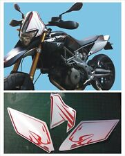 Aprilia DORSODURO 750 2008 Kit tabelle R. - adesivi/adhesives/stickers/decal