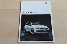 96177) VW Golf VI adidas GTi Prospekt 05/2010