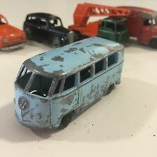 VINTAGE 19BUDGIE #12 BLUE VOLKSWAGEN MICRO BUS VW TYPE 1 VAN PARTS RESTO ENGLAND