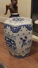 Large Oriental Ceramic Porcelain Stool / Table  Chinese