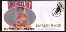 Harley Race Wrestling Legends Souvenir Cover