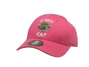 NFL Official Jacksonville Jaguars Girls Infant Size Hat (1-2) One Size Fits Most