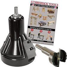 Lumberjack Tools Commercial Series Tenon Cutter Kit - Beginner Kit, 1 1/2in. ...