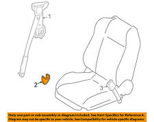 NISSAN OEM Front Seat Belt-Anchor Cover 87836CN001