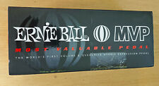 More details for ernie ball mvp guitar volume pedal with overdrive, ep06182, boxed, hardly used.