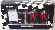 F1 Pit Crew Panasonic Toyota Racing Refuelling set 2 Circa 2001 1-43 scale