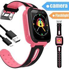 Bluetooth Smart Watch GPS GSM Touch Screen Tracker SOS Call for Kids Children US