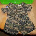 BUILD A BEAR BABW Doll Clothes ~ Camo Military Fatigues ~ USA Camouflage