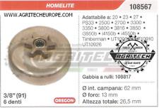 "108567 Oregon Piñón Campana Embrague Motosierra HOMELITE PS33 2500 3/8"" 6 Tooth"