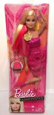 Mattel Barbie Glam Fashionistas New in Box Articulated Pink Hair Streak 2012