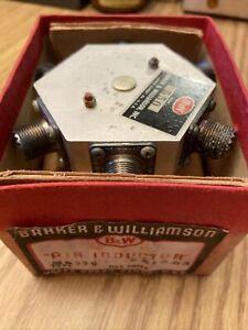 B&W BARKER & WILLIAMSON 550 AIR INDUCTOR NOS